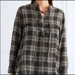 Madewell Terrace Lace-Up In Plaid